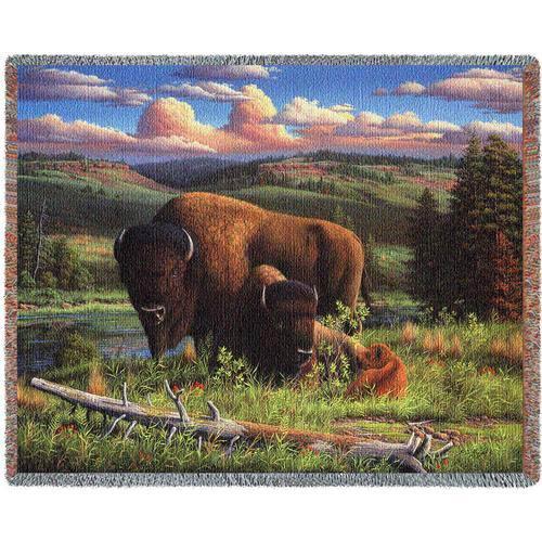 Buffalo Nation Throw