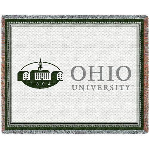 Ohio Univ Logo Throw