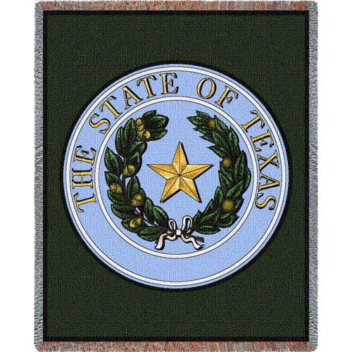 Texas State Seal Throw