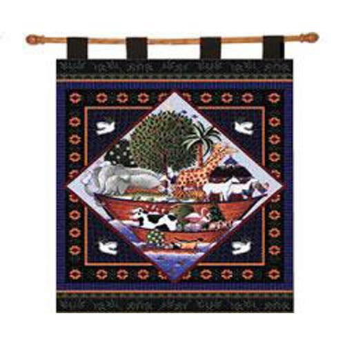 Pure Country Weavers Noahs Ark Coco Wall Tapestry