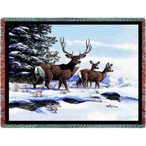 Mule Deer Throw