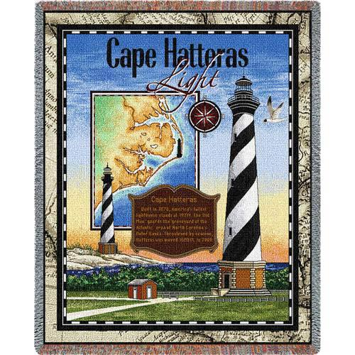Cape Hatteras Lighthouse Throw