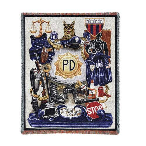Policeman Pride Throw