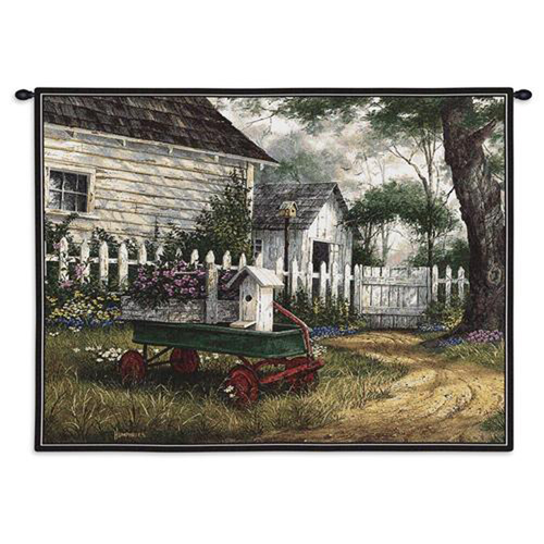 Antique Wagon Wall Tapestry