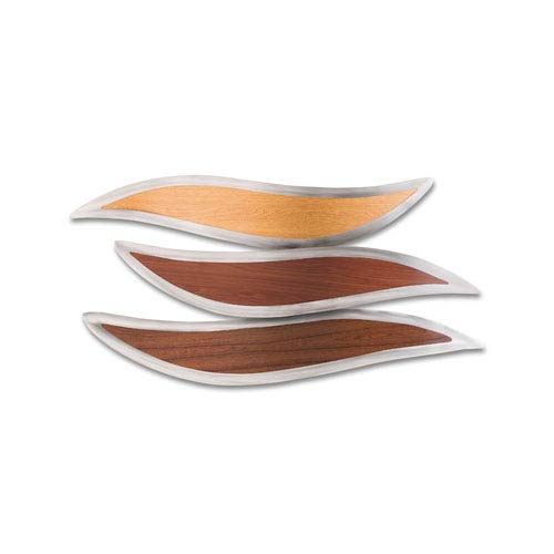 Motility Brushed Steel Wall Art