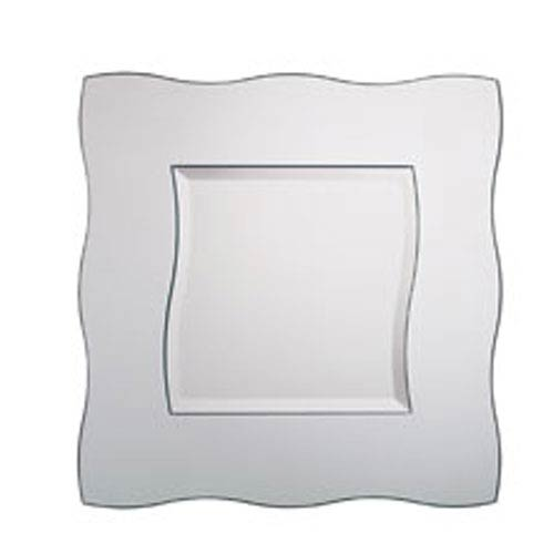 Wavy Square Mirror