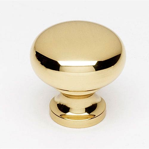 Alno, Inc. Polished Brass 7/8-Inch Knob