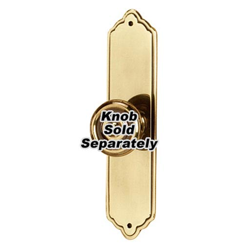Polished Antique Brass 4-Inch Escutcheon