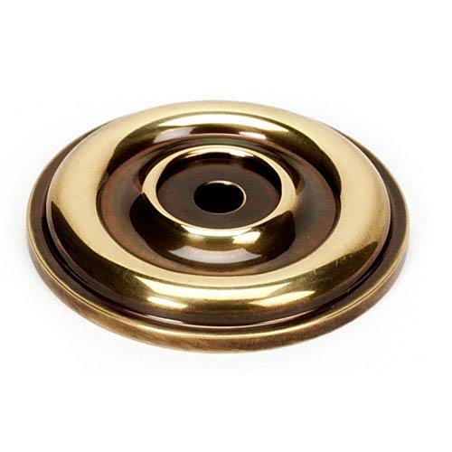 Polished Antique Brass 1 5/8-Inch Rosette