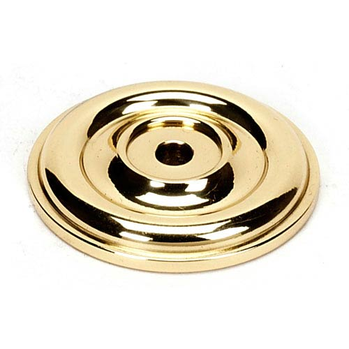 Polished Brass 1 5/8-Inch Rosette