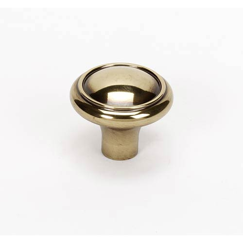 Classic Traditional Polished Antique 1 1/2-Inch Knob