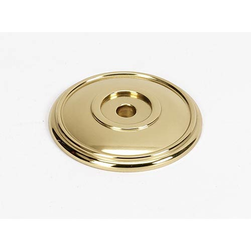 Classic Traditional Polished Brass 1 5/8-Inch Rosette