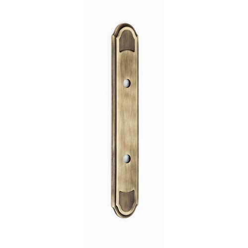 Classic Traditional Antique English Matte Backplate for 3-Inch Pull