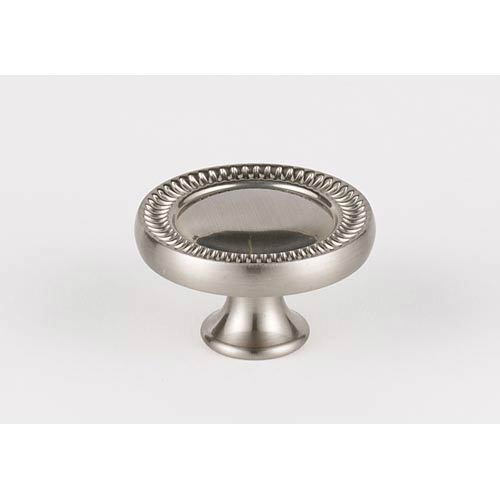 Regal Satin Nickel 1 1/2-Inch Knob