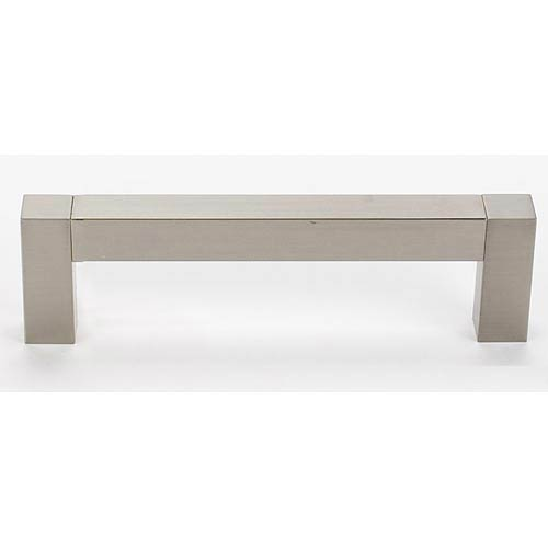 Square Top Satin Nickel 6-Inch Bar Pull