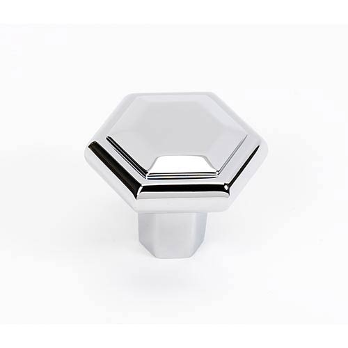 Nicole Polished Chrome 1 1/2-Inch Knob