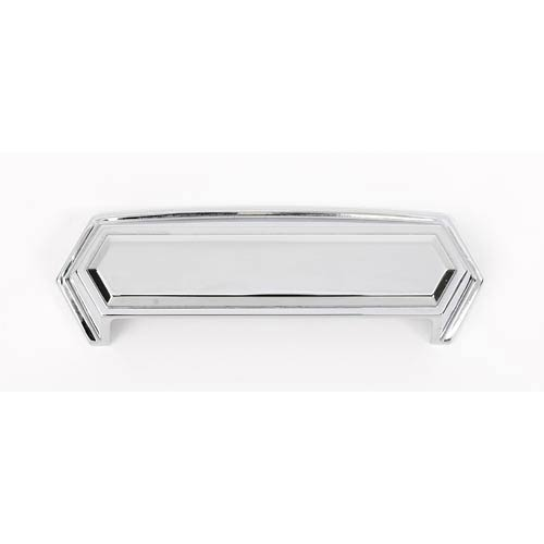Nicole Polished Chrome 4-Inch Cup Pull