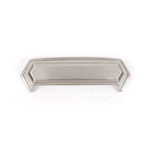 Nicole Satin Nickel 4-Inch Cup Pull