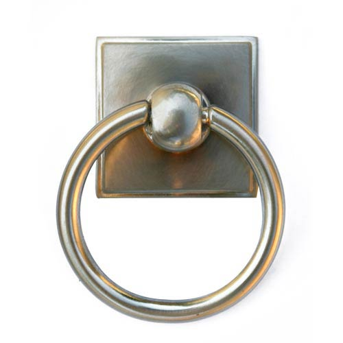 Eclectic Satin Nickel Ring Pull