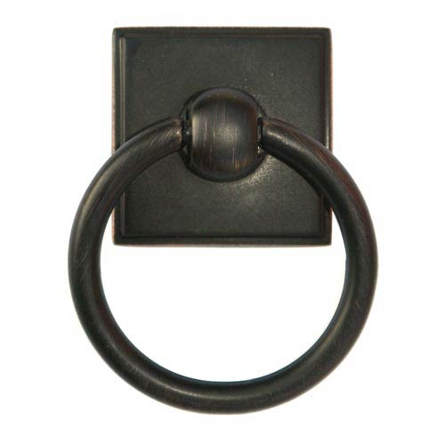 Eclectic Venetian Bronze Ring Pull