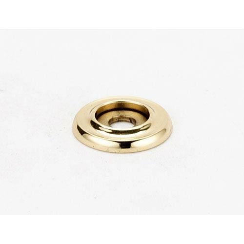Polished Brass 3/4-Inch Backplate