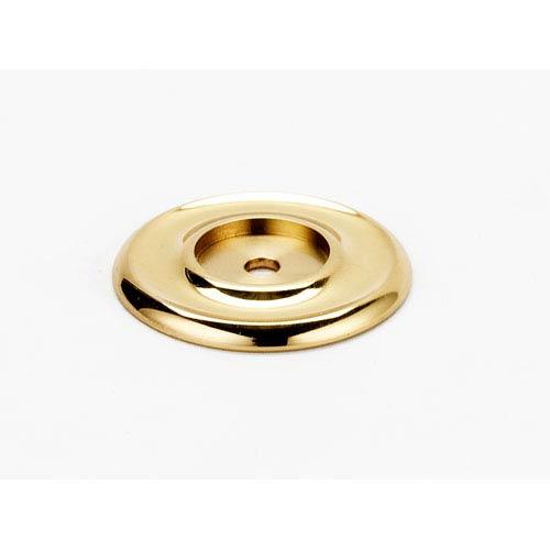 Alno, Inc. Polished Brass 1 3/4-Inch Backplate