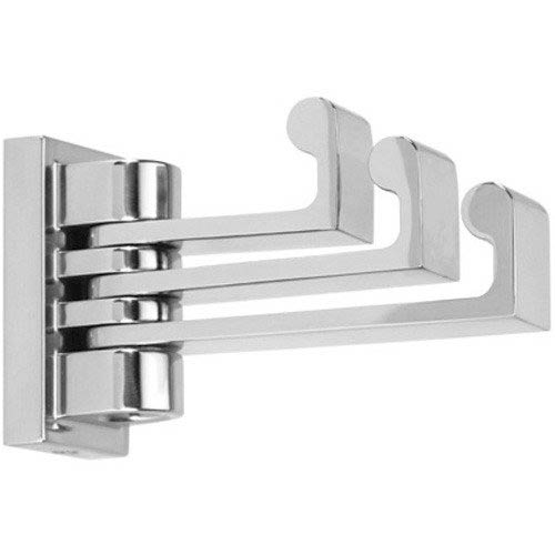 Luna Polished Chrome Swivel Robe Hook