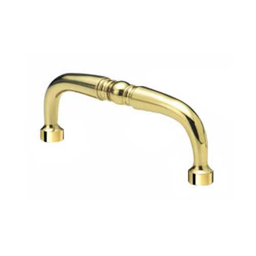 Alno, Inc. Traditional Polished Antique Pull