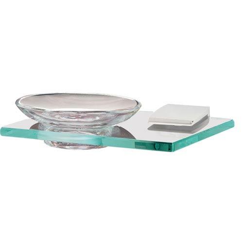 Manhattan Polished Chrome Soap Holder w/Dish