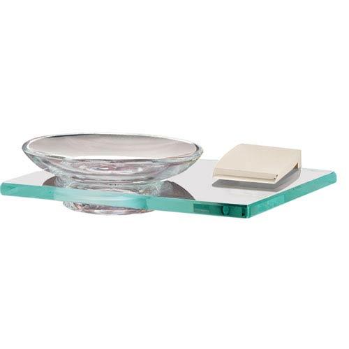 Manhattan Polished Nickel Soap Holder w/Dish