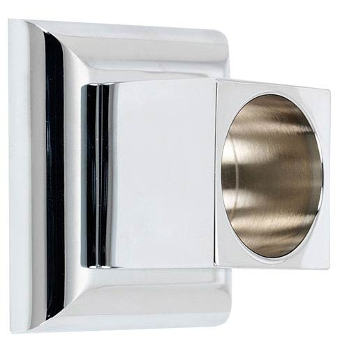 Manhattan Polished Chrome Shower Rod Brackets Sold In Pairs