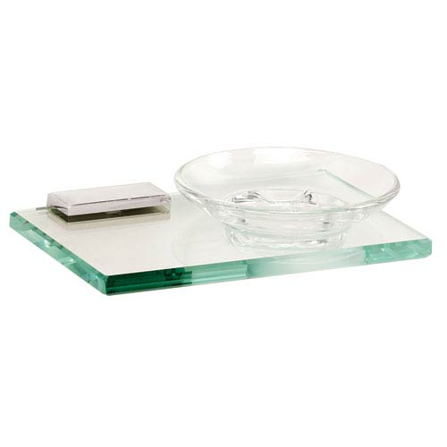 Arch Polished Chrome Soap Holder w/Dish