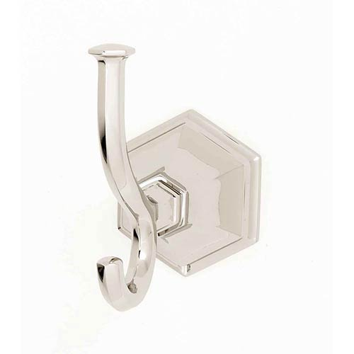 Nicole Polished Nickel Robe Hook
