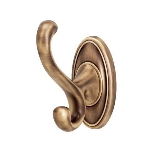 Classic Traditional 3 3/4-Inch Antique English Matte Robe Hook