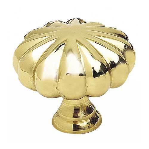 Alno, Inc. Traditional Polished Brass Knob