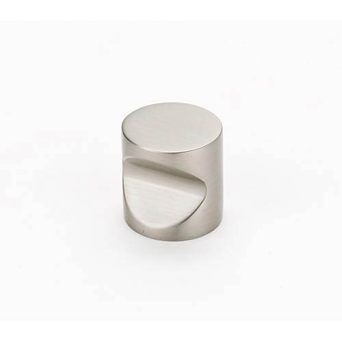 Contemporary Satin Nickel 1-Inch Knob