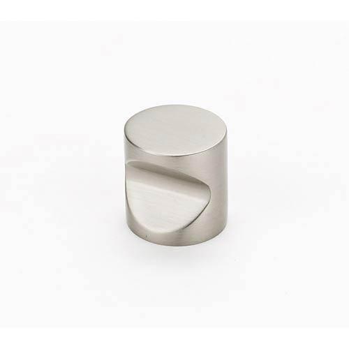 Contemporary Satin Nickel 20.0 mm Knob