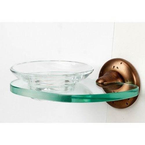 Alno, Inc. Sierra Rust Bronze Soap Dish w/Holder