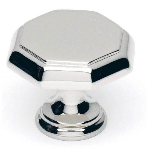 Polished Chrome 1 1/4-Inch Knob