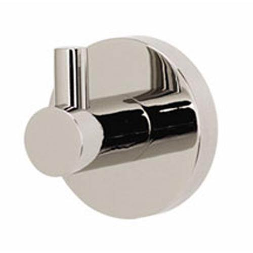 Contemporary Polished Nickel Robe Hook