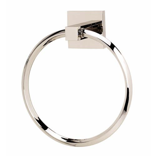 Contemporary II Polished Chrome Towel Ring