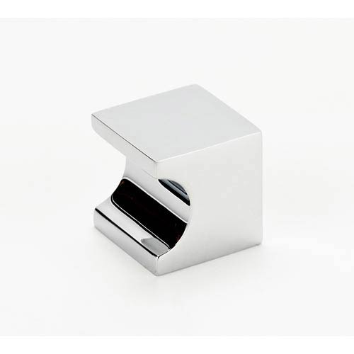 Contemporary II Polished Chrome 25.4 mm Square Knob