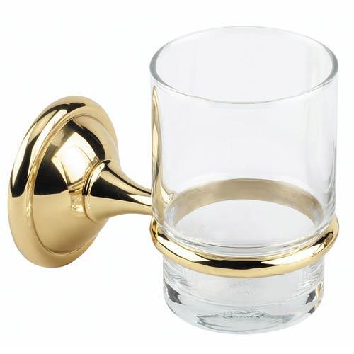 Alno, Inc. Yale Polished Brass Tumbler Holder