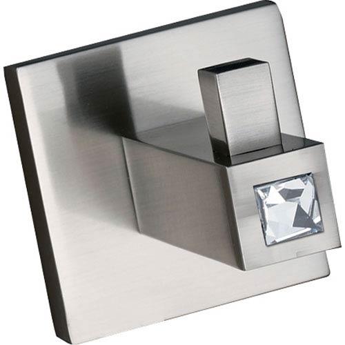 Alno, Inc. Contemporary II Crystal Satin Nickel Robe Hook
