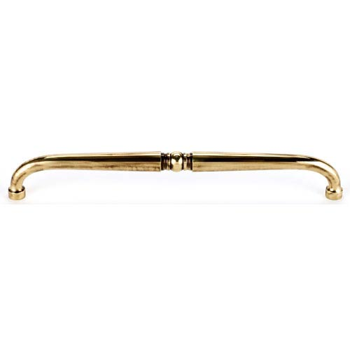 Polished Antique Brass 18-Inch Pull