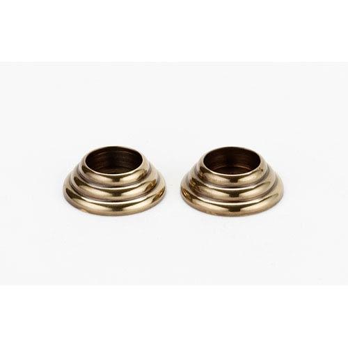 Alno, Inc. Polished Antique Brass Appliance Rosettes