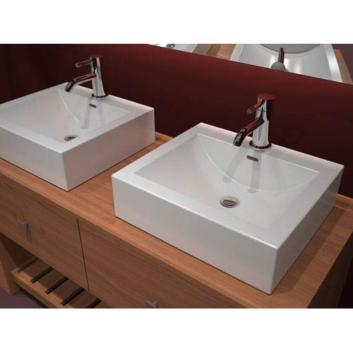 Cantrio Koncepts Cast Polymer Vessel Sink