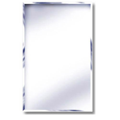 16 x 22 Beveled Mirror Recessed Steel Medicine Cabinet