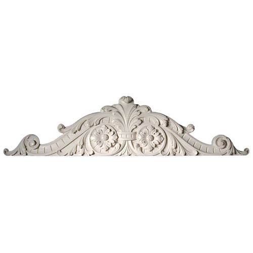 Ivory Ornate Overdoor Wall Decor