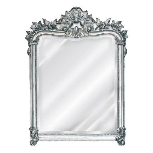 Gilt Silver English Mirror